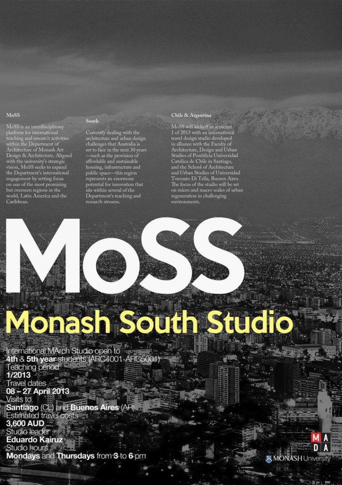 MoSS: Monash South Studio