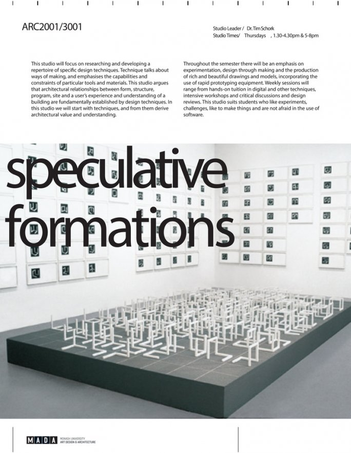 speculative formations
