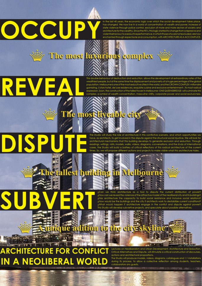 Occupy Reveal Dispute Subvert